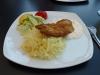 vattnig pressad potatis smaklös fisk och dyrt
