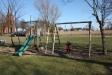 Lekplats för barnen så vi föräldrar fick sitta i lugn och ro
