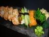 12 bitar vegetarisk sushi för 105 kronor.