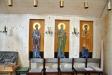 Tre ikonmålningar till