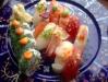14-bitars sushi.