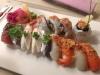 Läcker sushi på Akki Hornstull!