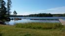 Karsnäsabadet en solig augustidag