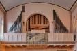 Den nuvarande orgeln är från 1948. Foto: Thomas Bernerstedt