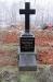 Vårdanstaltens grundare till kyrkan har sin begravningsplats här på den lilla kyrkogården.