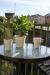 Morgonkaffe på balkongen med utsikt över kanalen. Harmoni? Javisst.