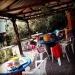 en varm dag i Baobab Café