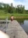 Bryggan vid Lilla Bandsjön