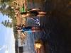 Barnen älskade att både bada och leka vid Lilla Älgsjön!