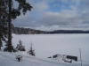 Vinter vid Lillsjön