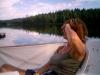 Gumman vid Lillsjön