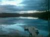 Sommar natt över lillsjön
