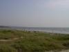 varm Augustidag 2002. OBS! Bilparkering på stranden ej tillåten längre.