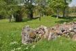 Vad som finns kvar av Edshults gamla kyrka