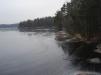 Såhär ser sjön ut på vintern