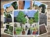 Ett collage ifrån Västra Ed s kyrkoruin