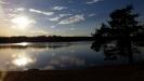 vy över den vackra sjön
