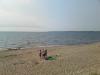 Gott om plats på stranden om man vill