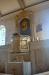 Altarpredikstolen finns kvar
