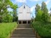 Denna del av kyrkan kallas för Lilla Skogskapellet.