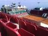 Utsikt från tennisstadion över Laholmsbukten