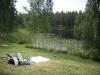 Första delen av badplatsen