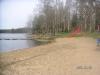 Stranden i Stavsjöbadet