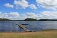 Badbryggan i Stora Hammarsjön