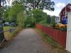 Gångvägen ner mot badplatsen