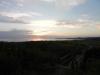 Kvällsvy mot nordväst (kullaberg) från parkeringen