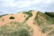 Stora dynor med lös sand.