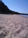 taget från andra halvan av stranden