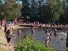 2016.07.23  kl. 21.30  på stranden mer än 400 personer...