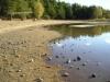 Sandviken vid extremt lågt vattenstånd