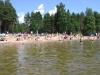 Sandstranden vid Västersjön