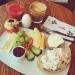 Supergod frukostbuffé på Evas Paley