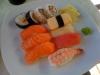 Ganska standard sushi.
