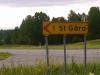 Västerut mot St. Gåra från RV 34