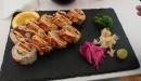 Double Salmon på Menu Sushi