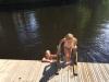 Simkunniga barn badar gärna här