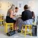 Interiör Bruket kaffebar och Kafé