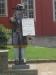 Gubben Rosenbom i Karlskrona. Lyft på hatten och lägg i en peng!