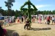 Midsommar på Borrbystrands Camping