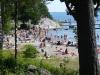 Stranden. Augusti 2009.