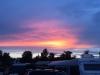 Solnedgång över Haverdals Camping