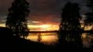 Solnedgång Särna camping juli 2011    Foto:Iphone KP