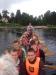 Drakbåtspaddling på Hindås Marina Outdoor & Camping Village