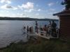 Aquaskipper vid Bastubryggan