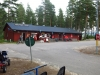 Receptionen och servicehuset