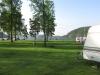 Badstranden är riktigt fin och den är utrustad med brygga och hopptorn. Sjön heter Övre Föllingen.